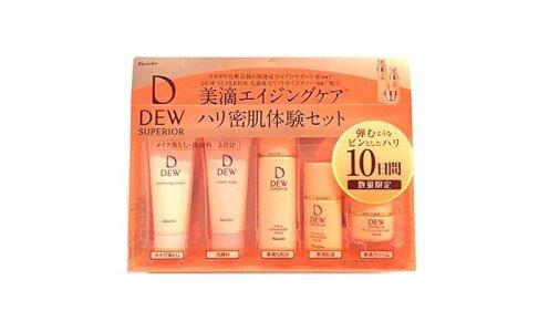 KANEBO Dew Superior Trial Set — мини набор антивозрастного ухода