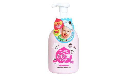 UNIMAT RIKEN Kids Peach Leaf Shampoo — детский шампунь для волос и всего тела