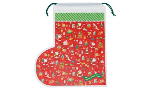 Подарочная упаковка Сапожок для Санты (gift bag)