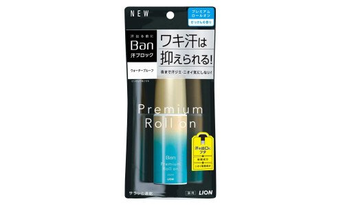 LION Ban Premium Roll On — дезодорант антиперспирант