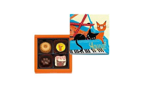 GONCHAROFF Angege Chaton Noir A — шоколадные конфеты