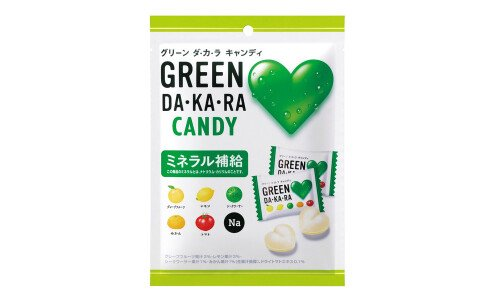 LOTTE GREEN DA・KA・RA Candy — леденцы с минералами