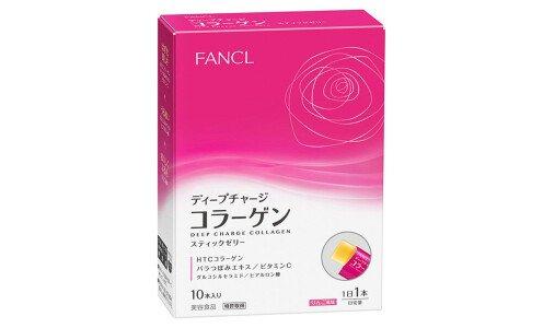 FANCL Deep Charge Collagen Stick Jelly — коллагеновое желе в стиках