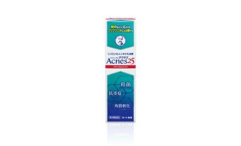 ROHTO Acnes 25 Medical Mist b — лечебный спрей от прыщей на теле