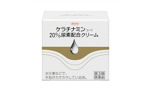 KOWA Keratinamin W — крем для рук и сухих участков кожи, банка 60 г.