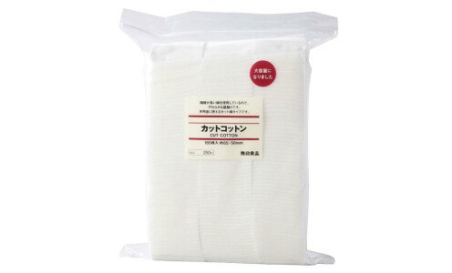 MUJI Cut Cotton — ватные паффы