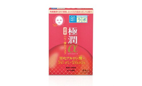 HADA LABO Gokujyun Alpha Moist Lift d mask — лифтинг маска, 1 шт