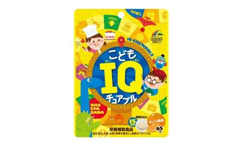 UNIMAT RIKEN Kids IQ Chewable — детское драже от 3 лет для поддержки умственной деятельности