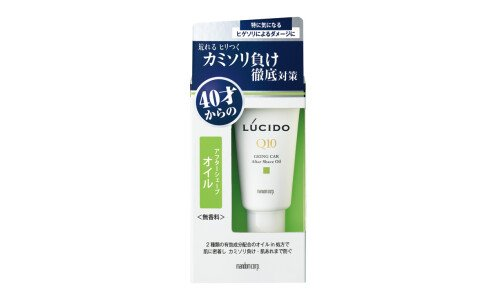 LUCIDO Q10 Ageing Care After Shave Oil — масло после бритья