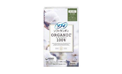 UNICHARM Sofy Soft Tampon Organic Cotton Super — тампоны из органического хлопка, для обильных выделений