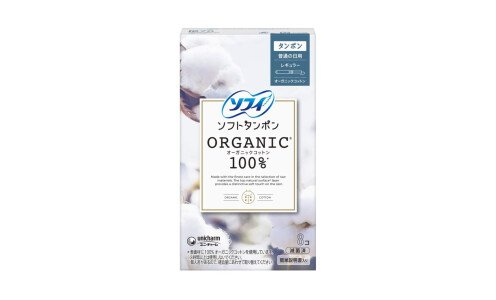 UNICHARM Sofy Soft Tampon Organic Cotton Regular — тампоны из органического хлопка, стандартные