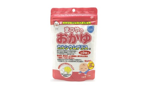 MATSUYA Okayu for 5 Month Old —  детская рисовая каша «окаю» с 5 месяцев