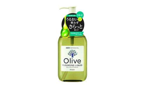 KRACIE Naive Botanical Cleansing Liquid — жидкость для снятия макияжа и очищения кожи