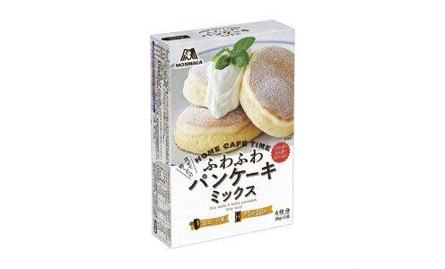 MORINAGA Fluffy Pancakes — смесь для приготовления пышных панкейков