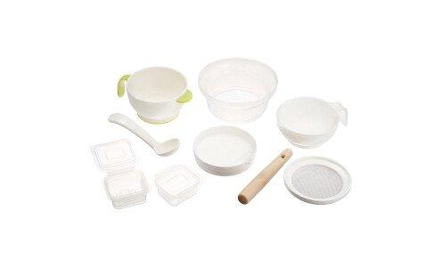 RICHELL Baby Tableware Set E — набор посуды для приготовления прикорма