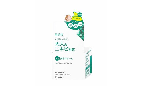 KRACIE Hadabisei Acne Care Cream — крем для лица