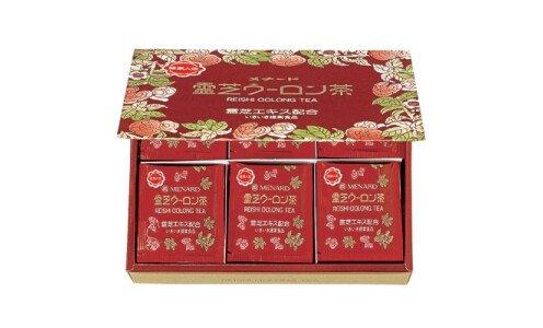 MENARD Reishi Oolong — чай улун с экстрактом гриба рейши (25 пакетиков)