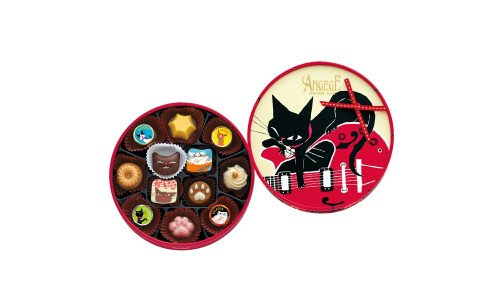 GONCHAROFF Angege Chaton Noir — шоколадные конфеты