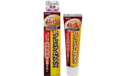 EBISU Premium Cares — премиальная зубная паста с 20% содержанием соли со вкусом юдзу