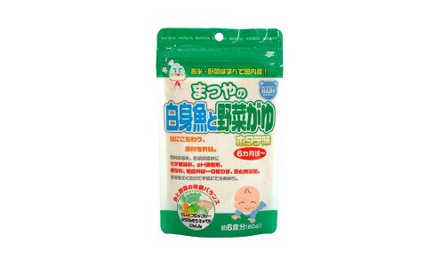 MATSUYA Okayu for 6 Month Old — детская рисовая каша «окаю» с 6 месяцев