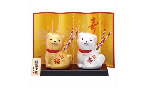 YAKUSHIGAMA Символ года 2018 — две собачки
