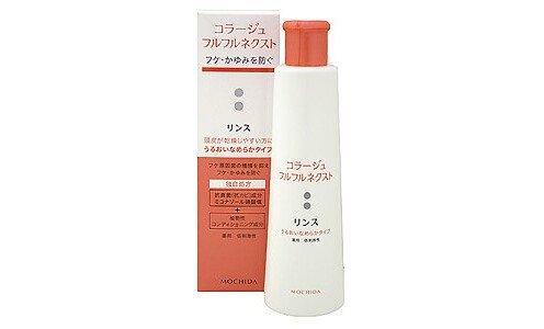 COLLAGE Furufuru Rinse, Medicated — антигрибковый бальзам ополаскиватель для сухих волос, 200 мл.