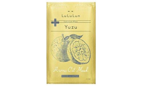 LULULUN Plus Yuzu — маски для лица с ароматом и экстрактом юдзу, 1 шт.
