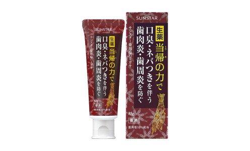 SUNSTAR Shio Hamigaki — лечебно-профилактическая солевая зубная паста.
