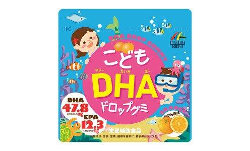 UNIMAT RIKEN Kids DHA Drop Gummy — детский мармелад от 3 лет с омега-кислотами