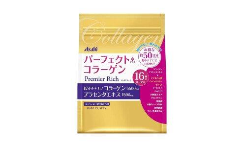 ASAHI Premier Rich Perfect Collagen — коллагеновая смесь, на 50 дней