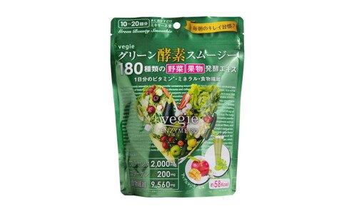 VEGIE Green Beauty Smoothie — диетический смузи из аодзиру с коллагеном и плацентой
