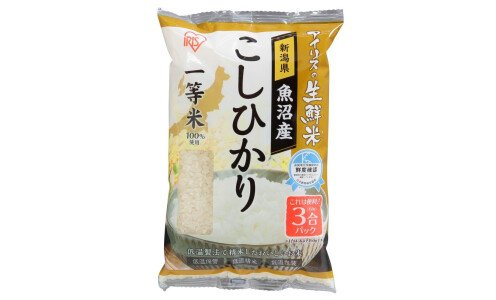 IRIS OHYAMA Niigata Koshihikari — японский рис сорт косихикари, из префектуры Ниигата