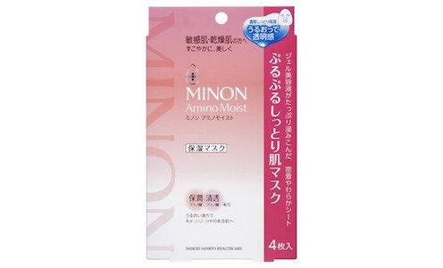 MINON Amino Moist Mask — увлажняющие маски для лица