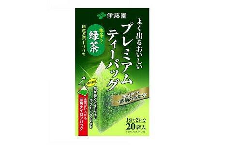 ITOEN Premium Tea Bag — премиальный зеленый чай в пакетиках