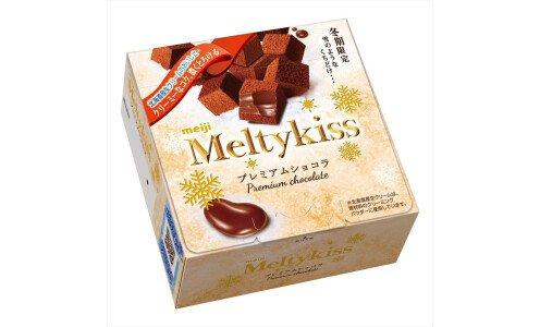 MEIJI Melty Kiss Premium Chocolate — сезонные шоколадные конфеты
