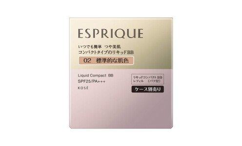 ESPRIQUE Liquid Compact BB — жидкий компактный бб-крем, сменный блок