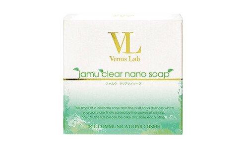 VENUS LAB Jamu Clear Nano Soap — мыло для интимной гигиены