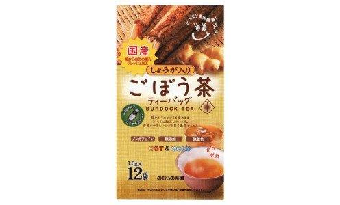 NOMURA Burdock Tea — чай из корня лопуха с имбирем