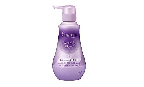 KAO Segreta Fukkura Shampoo — ламинирующий шампунь для объема