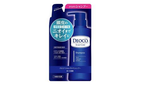 ROHTO Deoco Scalp Care Shampoo  — шампунь с уходом за кожей головы, сменный блок