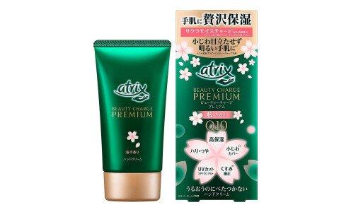 ATRIX Beauty Charge Premium — увлажняющий крем для рук с эффектом фотошопа, аромат сакуры
