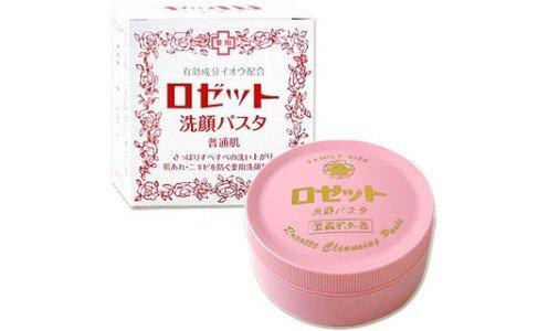 ROSETTE Medicated — паста для умывания для нормальной и жирной кожи.