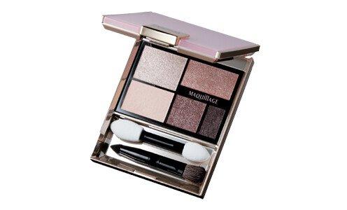 SHISEIDO Maquillage True Eyeshadow — палетка теней