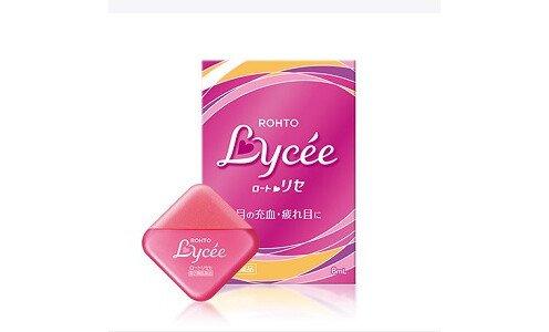 ROHTO Lycee — увлажняющие капли для глаз против красноты