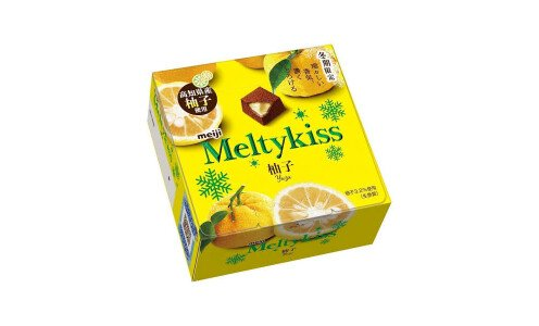 MEIJI Melty Kiss Yuzu — сезонный шоколад с юдзу