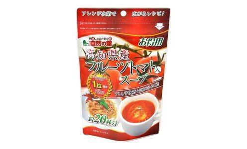AJIGEN Kochi Region Fruit Tomato Soup — прозрачный суп из сладких томатов