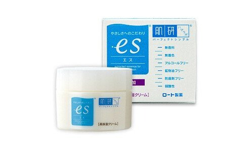 HADA LABO ES moist cream — крем для чувствительной кожи.