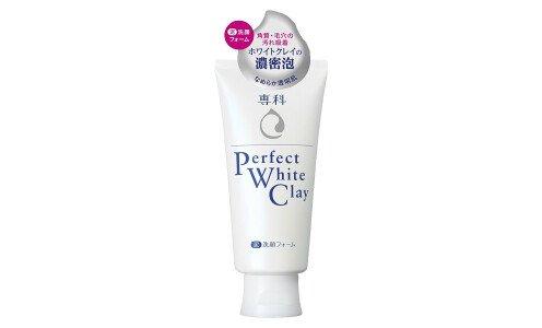 SHISEIDO Perfect White Clay — пенка для умывания