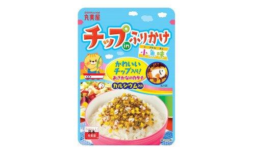 MARUMIYA Chip in Furikake Kozakana — фурикаке с декоративными рыбками