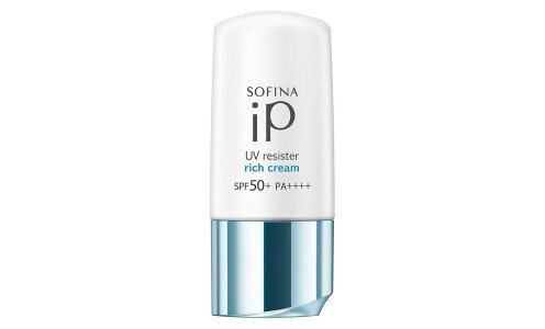 KAO Sofina ip UV Resister Rich Cream SPF 50+ PA++++ — увлажняющий санскрин